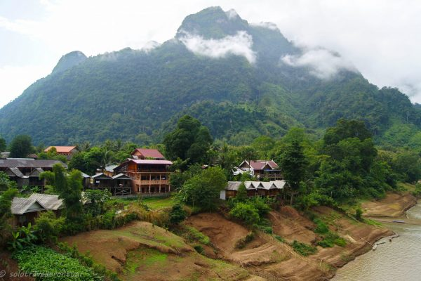 """The """"tourist"""" side of Nong Khiaw"""