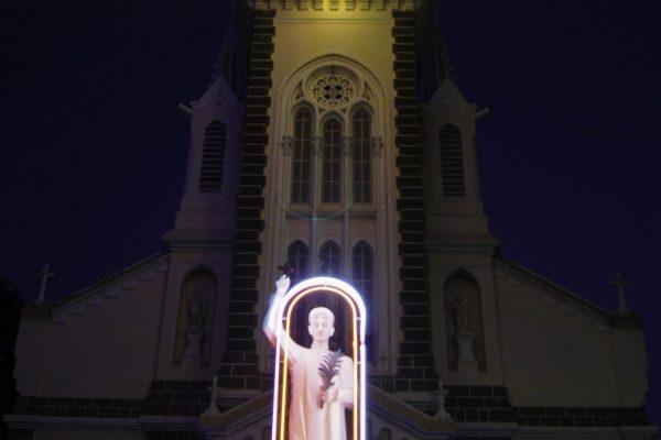 The church near my hostel