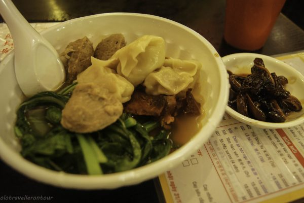 Dim Sum and pig ears...great dinner