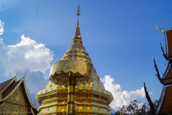 The main stupa of Wat Phra That Doi Suthep