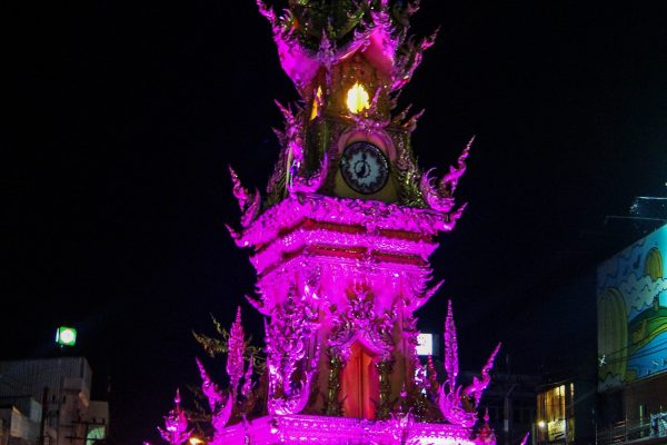 Clock Tower during the full hour