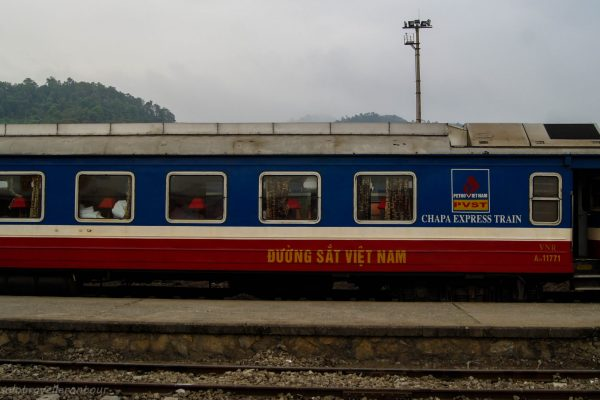 Sleeper train to Sapa