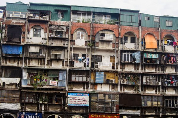 Typical houses in Hanoi