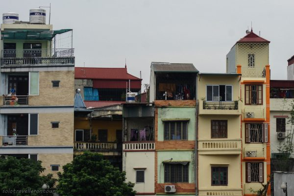 Typical architecture throughout Hanoi
