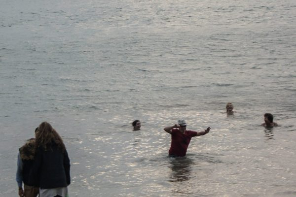 """My """"accident"""" in the sea"""