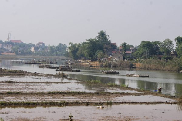 Rivers are important for transporting goods