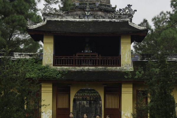 Square inside the Celestial Lady Pagoda