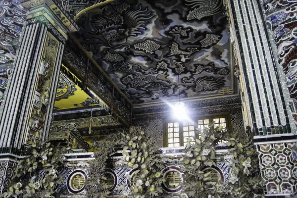 Inside Lang Khai Dinh