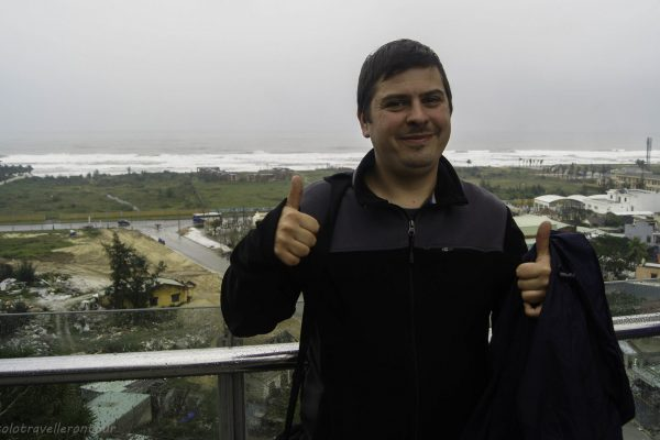 Thumbs up for better weather