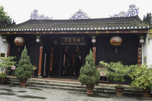 One of the wooden temples in the Ancient Town