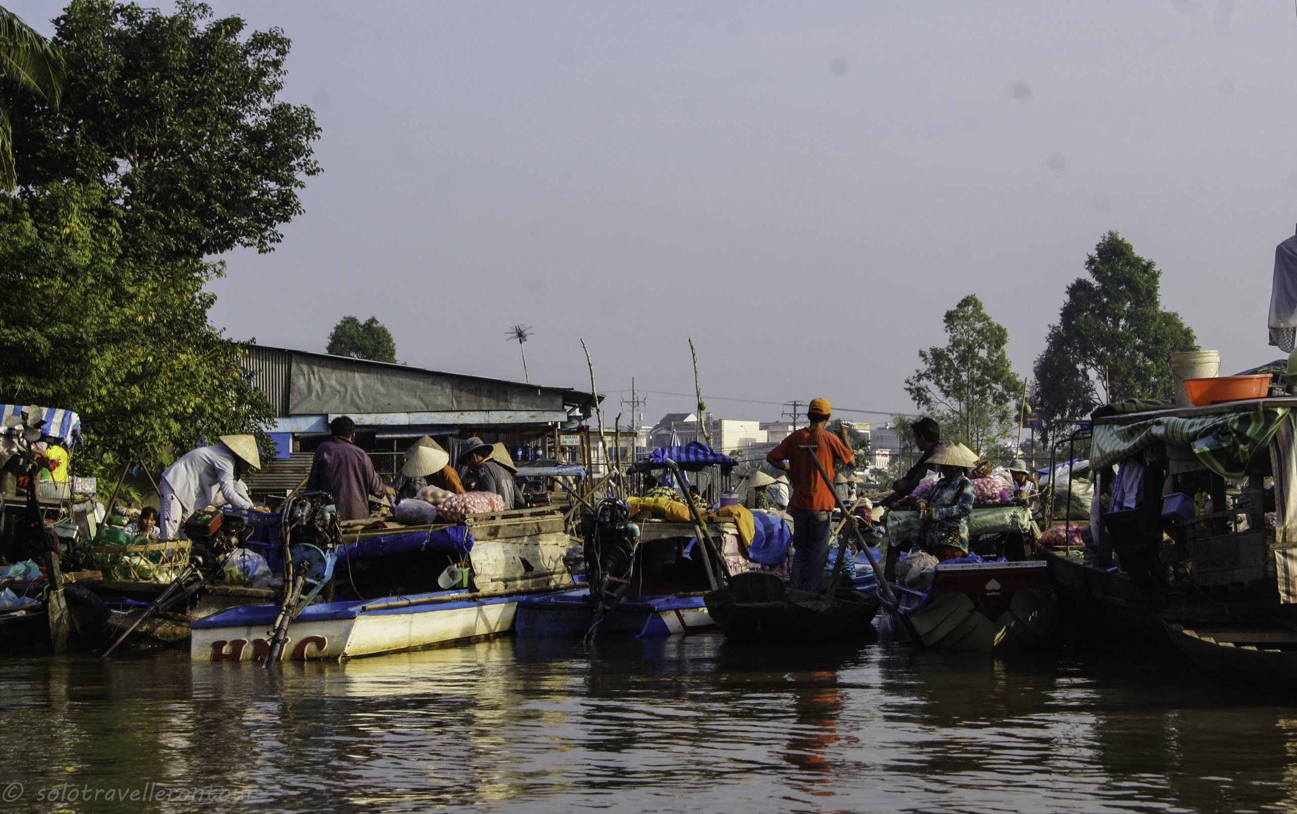 24. Can Tho: floating markets, snakes – and a beach