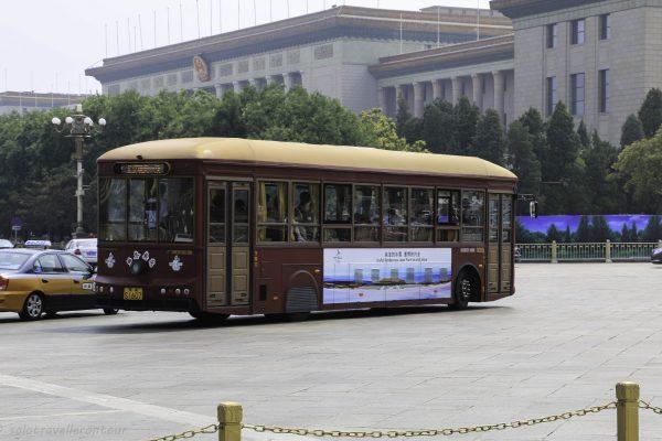 The local tourist bus