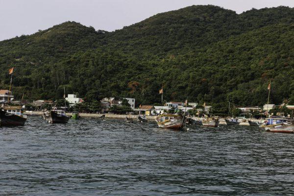 Bai Lang village from the sea