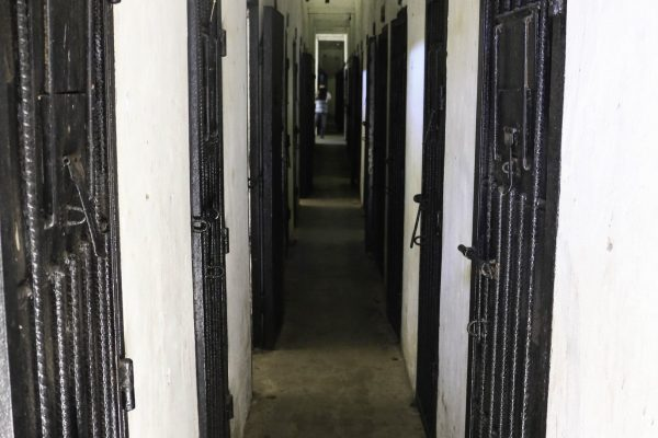 The small cells of the US prison