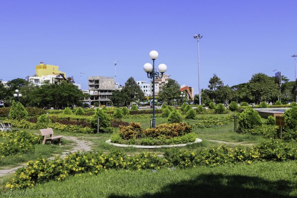 One of the larger parks