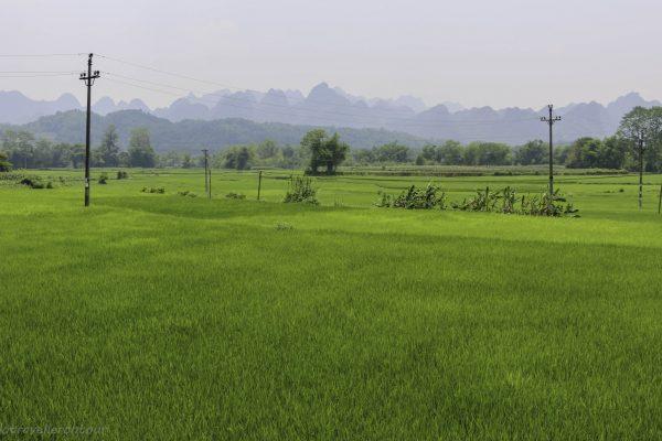 Scenery outside Cao Bang
