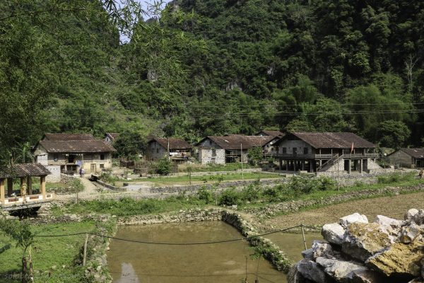 One of the little minority villages in this area