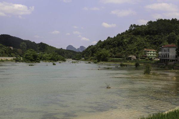 The border between Vietnam and China