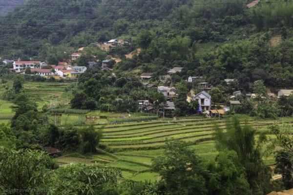 Area near Bao Lac