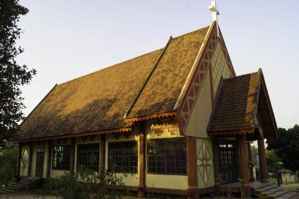 Little church in the enarby minority village