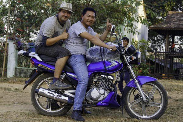 Bao, his bike and I