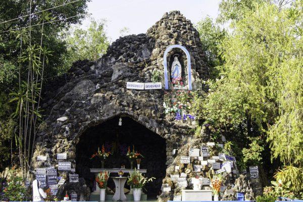 Altar near the cave church