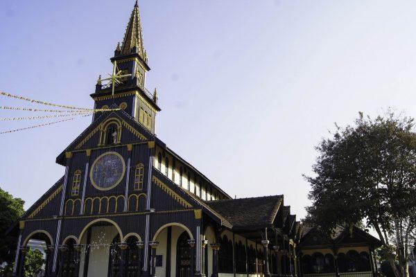 The Wooden Church of Kon Tum