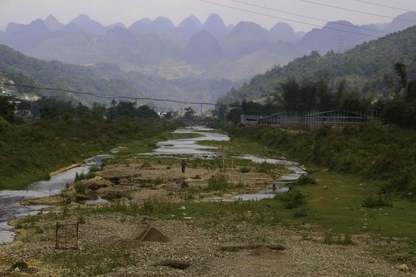 THe dry river of Nguyen Binh