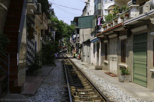Rail track road