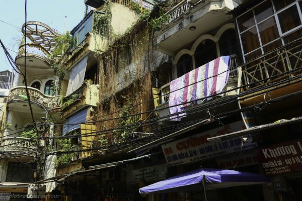 Typical Hanoi architecture