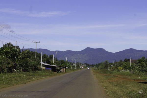 Fantastic road towards Tad Lo