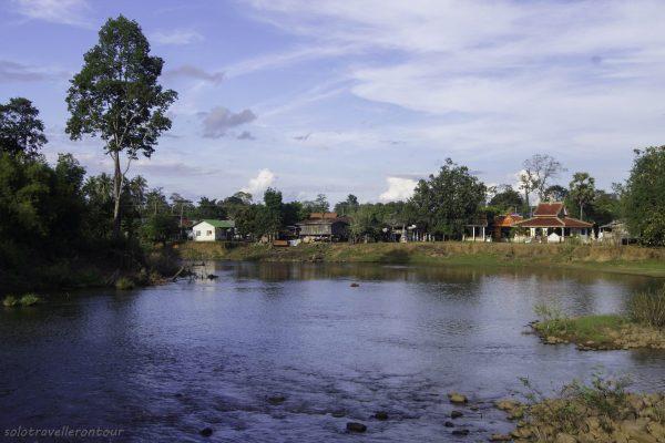 View over Tad lo village