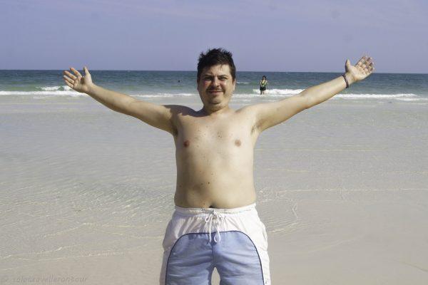 I enjoyed my remaining beach time