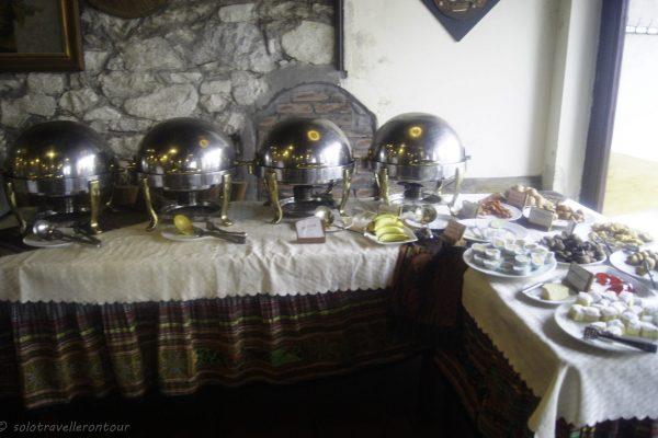 Breakfast buffet at Lotus Restaurant