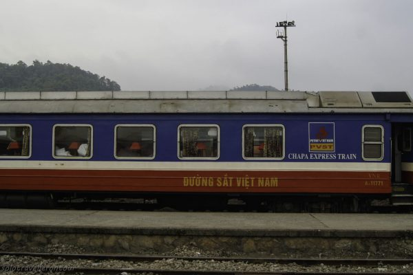 One of the private carriages