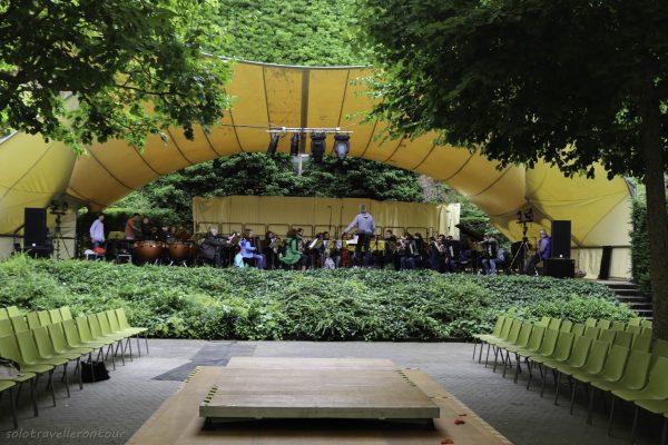 Rehearsal at the Serenadenhof