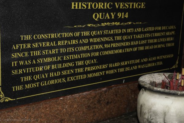 Historic information about the Quay