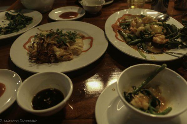Seafood at Thu Ba