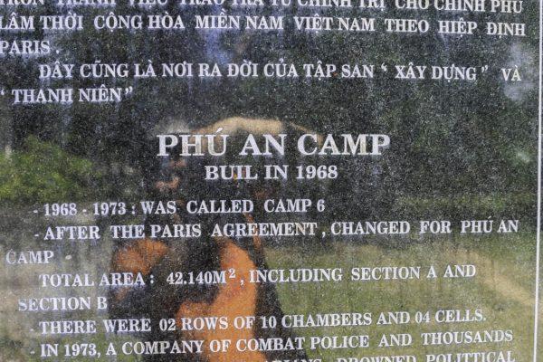 Plaque for Trai Phu An