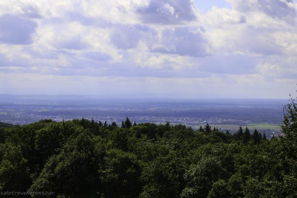 The view from the top of Thingstätte