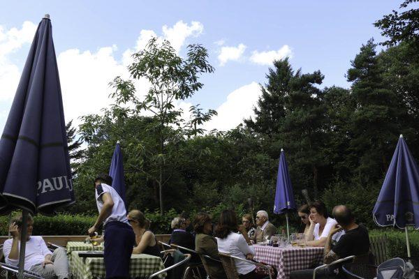 Beergarden of the Waldschenke