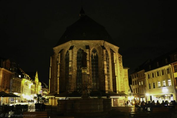Back of Heiliggeistkirche