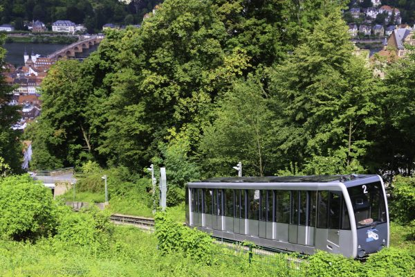 The automatic Bergbahn