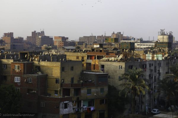 First glimpse of Cairo