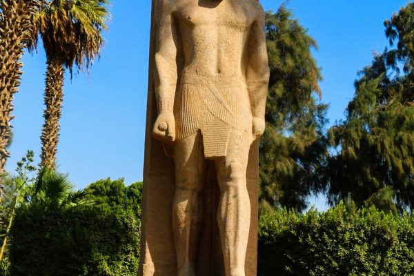 Another staute of Ramses II - this time still standind