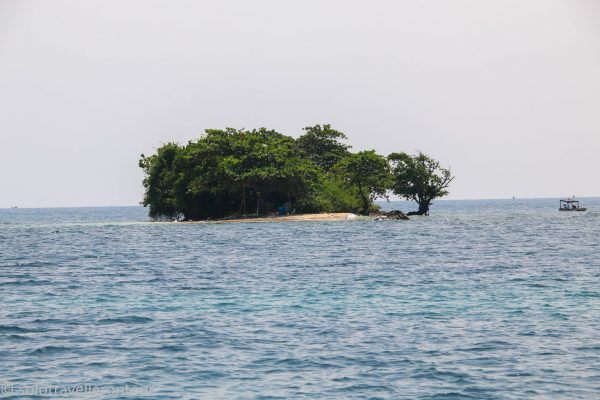"The dive site ""Turtle Island"""
