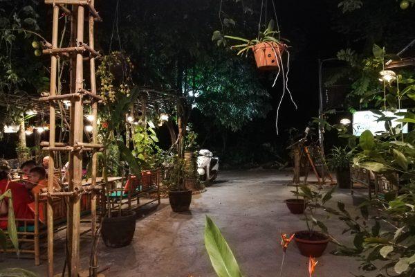 View of the nice yard