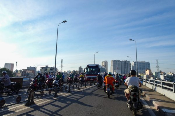 Getting out of Saigon via District 8