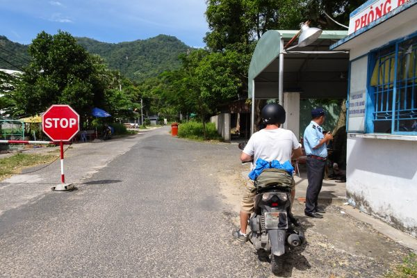 Entering the Nui Cam area