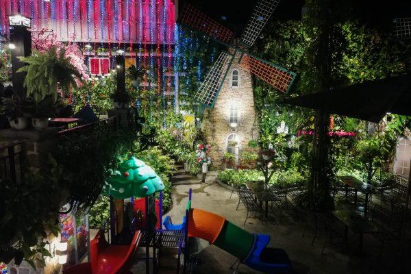 Beautiful decoration and playground